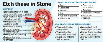 Kidney Stone Diet Chart In Hindi Pdf Leave The Pain From Kidney Stones Behind The Economic Times