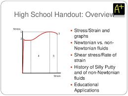 non newtonian fluid graph. non newtonian fluid graph