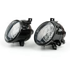 2003 Jetta Fog Lights Details About Pair Of Front Clean Led Fog Light Lamp For Vw Jetta Mk5 Rabbit Eos Tiguan