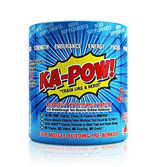 preworkout testosterone booster ka pow the fastest hitting anabolic pre workout supplement for