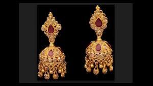 Buttalu Designs Gold Ear Rings Beautiful Detachable Buttalu Designs By Jay Sum