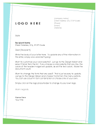 Formal Business Letterhead Official Company Letterhead Template Formal Business Letter