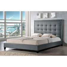 baxton studio angelica modern platform bed  hayneedle