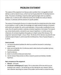 Research Problem Statement Examples Purpose Problem Statement Dissertation Coursework Example