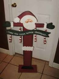 Tall Wooden Santa Stocking stand - Bing Images