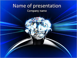 Diamond Ring Powerpoint Template Backgrounds Google Slides Id