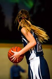 Image result for picture of a girl playing basketball