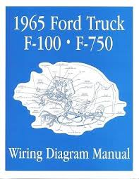 ford truck technical drawings and schematics section h wiring ford 1965 f100 f750 truck wiring diagram manual 65