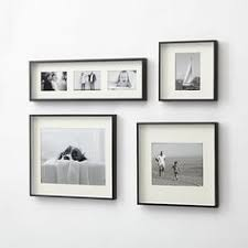 black wood frame. Shop Brushed Gunmetal Wall Frames. Our Brass Frame Adds Drama To Photo Displays With Black Wood