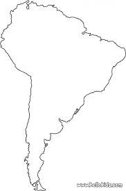 South America Map Template World Map Hd