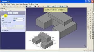Freecad Part Design Workbench 04 Freecad Part Design Workbench Tutorial