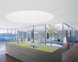 Decorations:Modern Skylight In Home Kitchen Decoration With Round Shape  Design Modern Skylight Decoration for