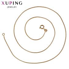 11.11 <b>Xuping Fashion</b> Necklace <b>New Design</b> Long Necklace Gold ...