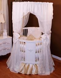 Circular Crib Bedding Round Crib Canopy Bedding Bedding Queen