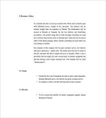 Free Online Business Plan Template Boutique Business Plan Template 12 Free Sample Example Format