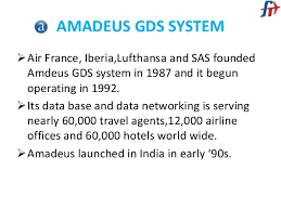 A global distribution system, or gds for short, is a network that while the amadeus gds system is the largest in terms of pure market share, it is not the only major global distribution system that. Amadeus Gds