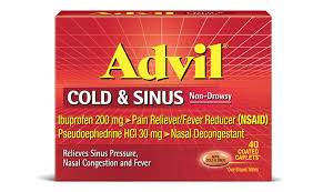 Advil Cold Sinus