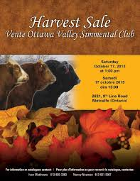Ottawa Valley Simmental Club Harvest Sale by Pappin Communications - issuu