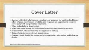 Resume And Cover Letter Workshop Planning For Your Career Ppt Video