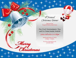 free christmas dinner invitations 43 free christmas flyer templates for diy printables