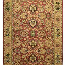 6 1 x 8 11 indian hand knotted wool persian design rug 10946