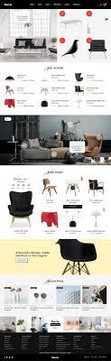 furniture design websites 60 interior. BAZU Is Clean And Modern Design Multipurpose #PSD Template For Stunning Interior, Furniture Shop Websites 60 Interior B