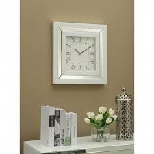 malibu mirrored wall clock wall clock
