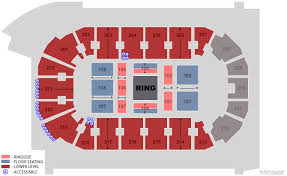Wwe Live Seating Chart Wwe Live Covelli Centre