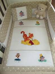 whinnie the pooh baby bedding