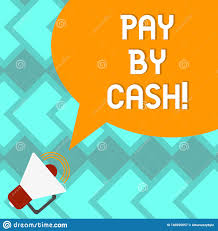Sound Designer Pay Text Sign Showing Pay By Cash Conceptual Photo Customer