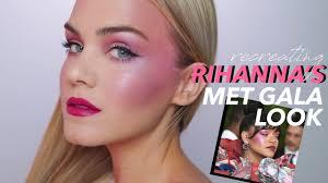 avant garde makeup rihanna s met gala 2017 look mariah leonard