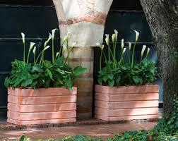 crescent garden planters. Ellis Planters Crescent Garden L