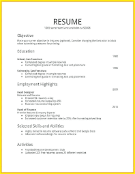 How To Make Resume For Job