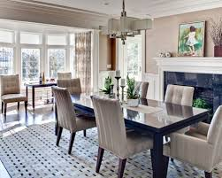 dining room table decor. Enclosed Dining Room - Large Contemporary Dark Wood Floor And Brown Idea Table Decor C
