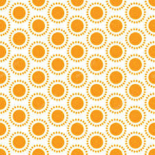 Sun Pattern Custom Cute Seamless Vector Pattern Of Sun Stock Vector © Karpenyuk 48