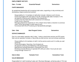 Examples Of Good Resumes Resume Template The Perfect Examples Unforgettable Whats Good 51