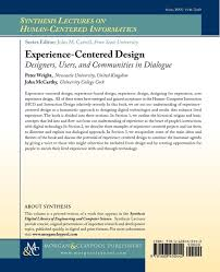 Experience Centered Design Amazon Com Experience Centered Design Designers Users
