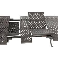 extending table 10 venetian chairs