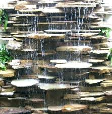 outdoor wall waterfall wall fountain for garden fountains for gorgeous wall water fountain outdoor best ideas about modern outdoor wall mounted