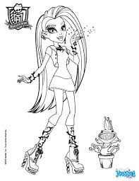 Coloriage Monster High Draculaura Anniversaire