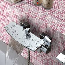 stone glass mosiac tiles washroom le floor k1638