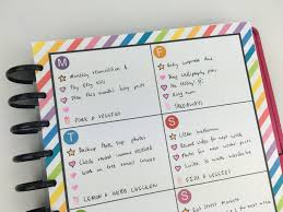 minimalist weekly planner spread simple planner supplies free printable weekly planner layout diy notebook arc review