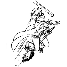 Harry Potter Coloring Pages Quidditch Color Bros
