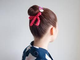 子供の髪型に夏祭りや発表会に似合う簡単アップヘア ヘアアレンジ