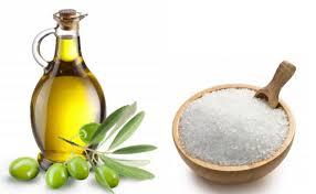 Salt and olive