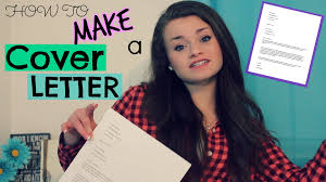How to Make an Acting Cover Letter to Submit to Agents! - YouTube