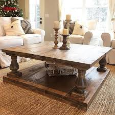 ... Coffee Table, Cool Dark Brown Rectangle Antique Wood Large Coffee Tables  Laminated Design: Marvellous ...