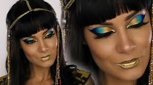 cleopatra egyptian dess makeup tutorial shonagh scott showme makeup
