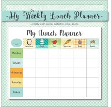 children menu planner lunch planner magdalene project org