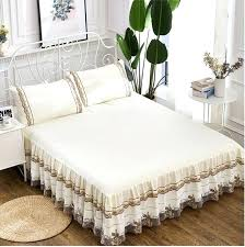decorative mattress cover. Decorative Mattress Cover Romantic Lace Bedding Bed Skirt 1 Princess Bedspread . I